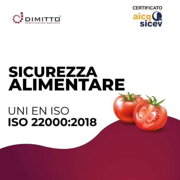 Corso di certificazione ISO 22000